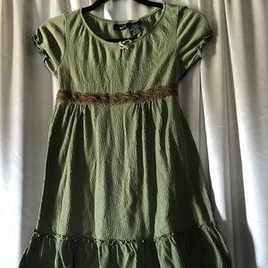 George Girl's Green Dress sz. 10